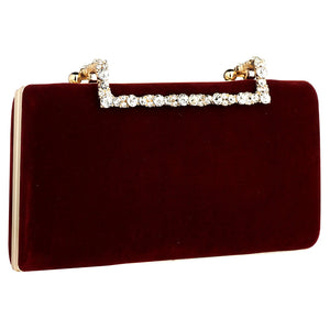 Flannelette Clutch Bag Elegant Luxury Women Bag