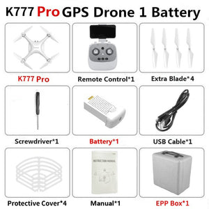 5G WiFi Newest HD K777 PRO Drone 3 Axis Gimbal Camera