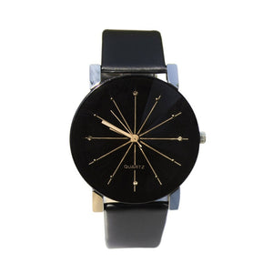 Men/Women's Simple Casual Style PU Leather Watchband