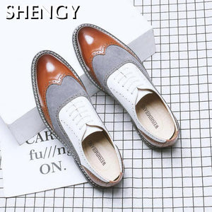Big Size New Fashion Men Brogue