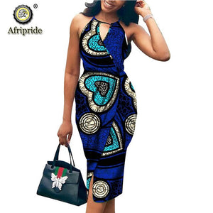 2020 African bodycon dresses for women dress party wedding formal dress dashiki clothing print wax cotton