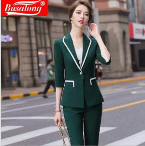 Ladies office lady's high quality Suite blazer