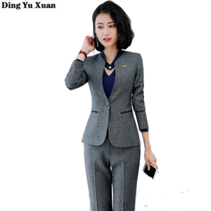 Ladies Formal Fashion Business Blazer Set