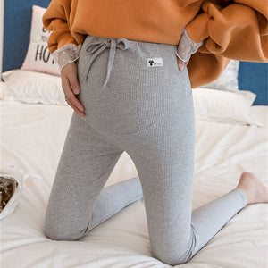 Maternity Pants Soft Slim Adjustable Waist