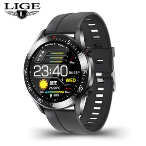 Fashion Full circle touch screen Men's Smart Watches Waterproof Sports Fitness Watch Luxury Smart Watch for men