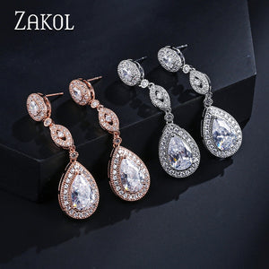 Luxury Water Drop Pear AAA Cubic Zirconia