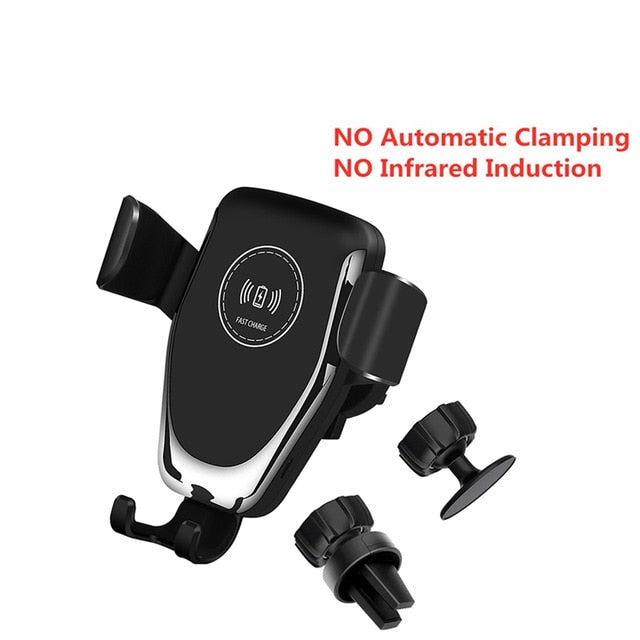 15W Automatic Clamping Infrared Sensor Car Mount Holder