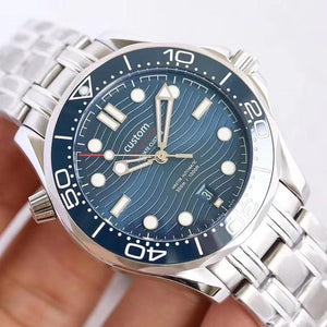 Design 42mm men's watch mechanical automatic stainless steel sapphire glassl