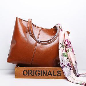 100% Genuine Leather Fashion Women Shoulder Bag