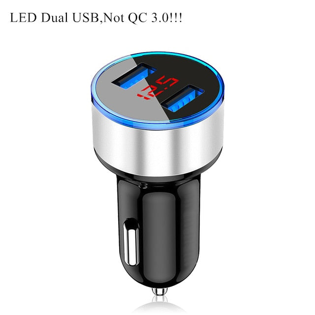 Car USB Charger Quick Charge 3.0 4.0