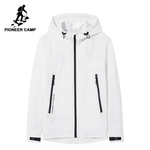 Cool White black Men jacket coat