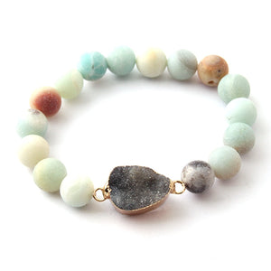 New Fashion Women Dress Stone Armban Druzy