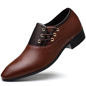 Men's Leatherette Oxford shoe for Office, Career Party