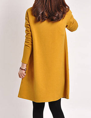 Women's Vintage Sweater Dress