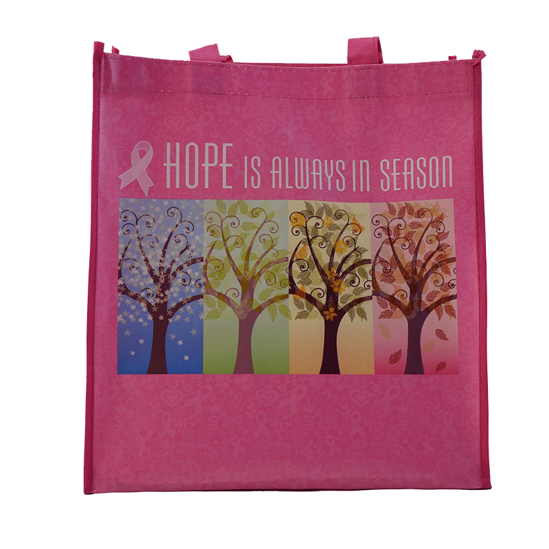 Pink: Tote Bag - Hope Is Always In Season
