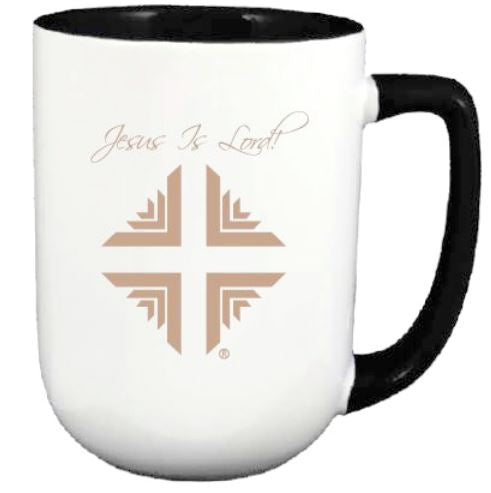 Mug:  White & Black w/Gold Logo