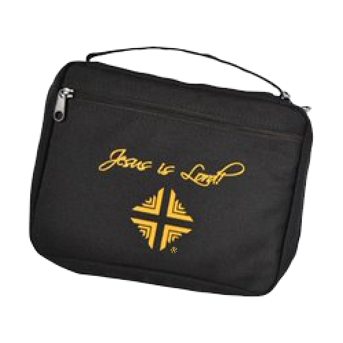 Bible Cover: D & V Logo - Black