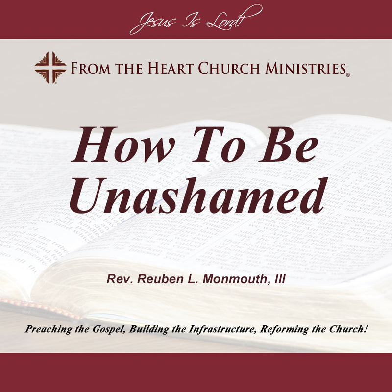How To Be Unashamed