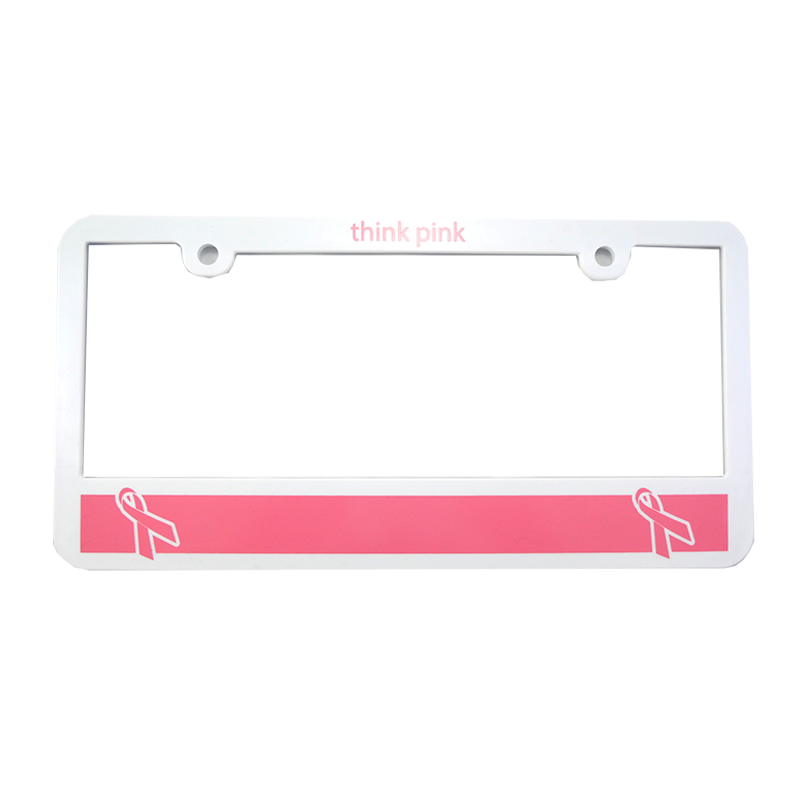 Pink: License Plate