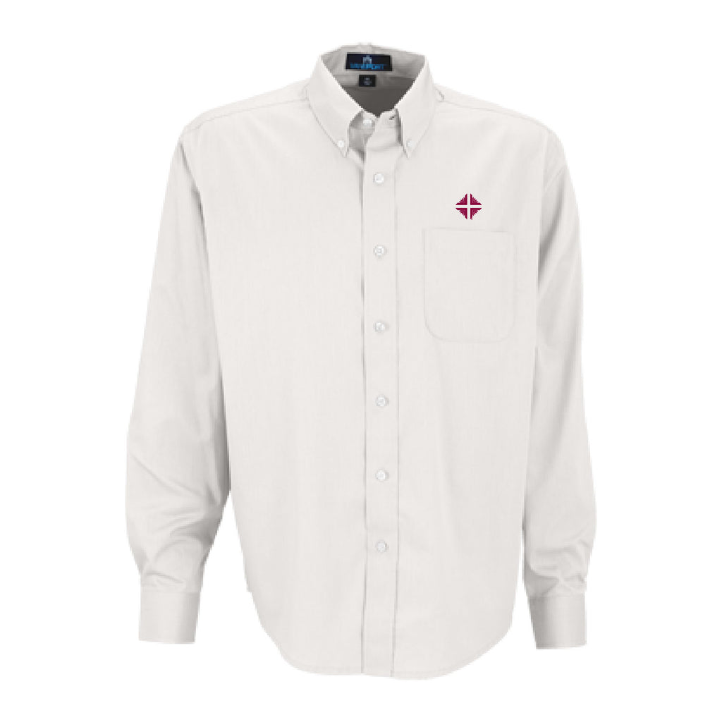 Shirt: Men's White Shirt w/D&V Logo