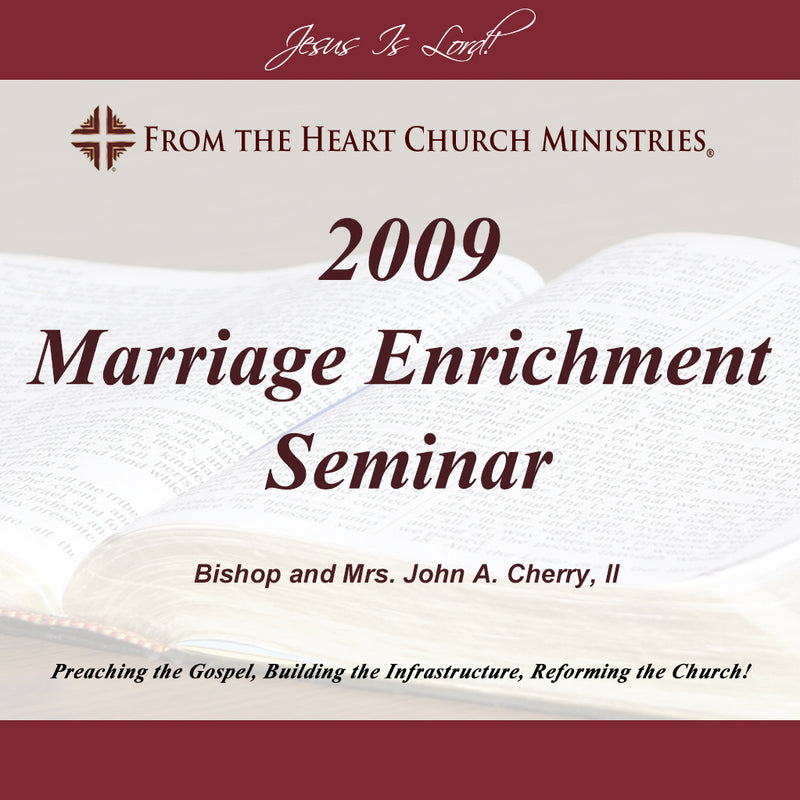 2009 Marriage Enrichment seminar