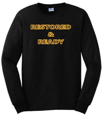 Restored & Ready T-Shirt - Adult