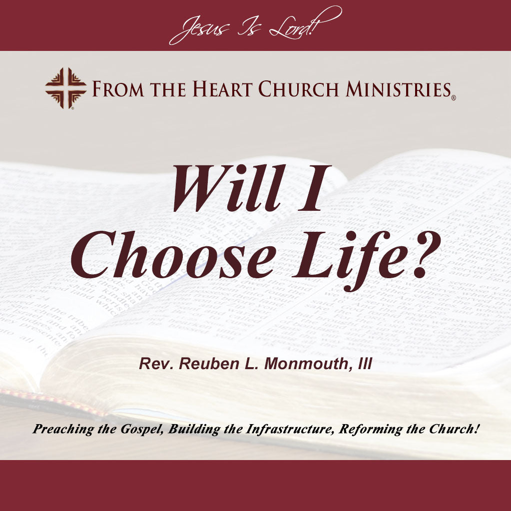 Will I Choose Life?