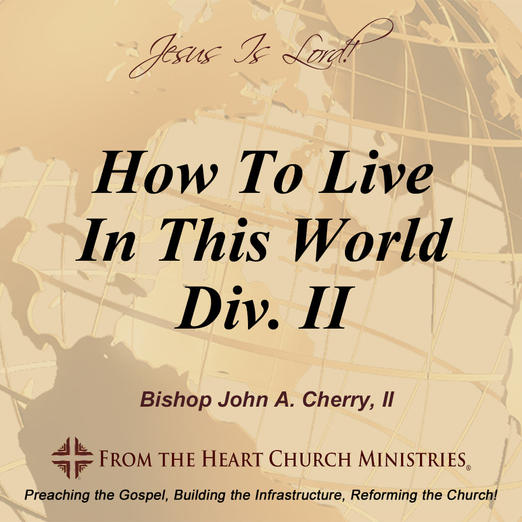 How To Live In This World Div. II
