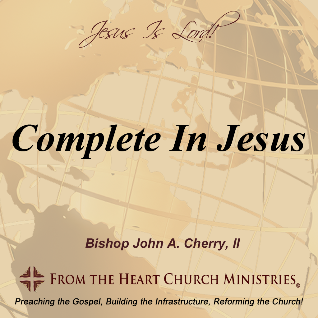 Complete in Jesus