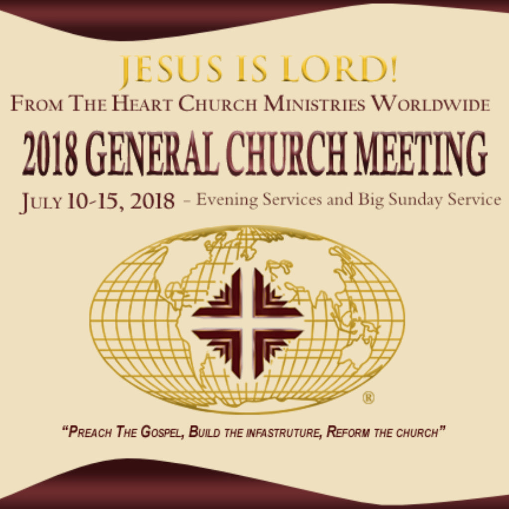 GCM 2018 - Evening Sessions & Big Sunday Package