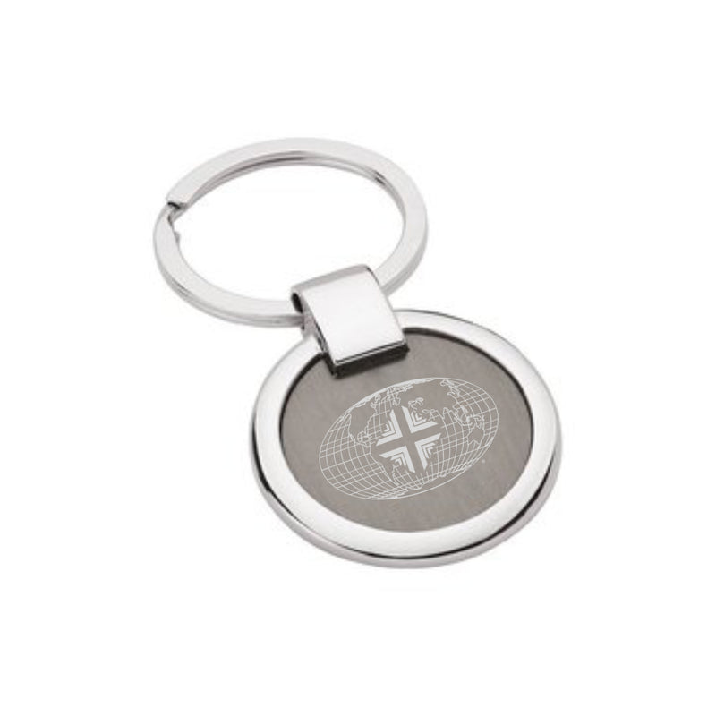 Key Chains: Silver Worldwide WW