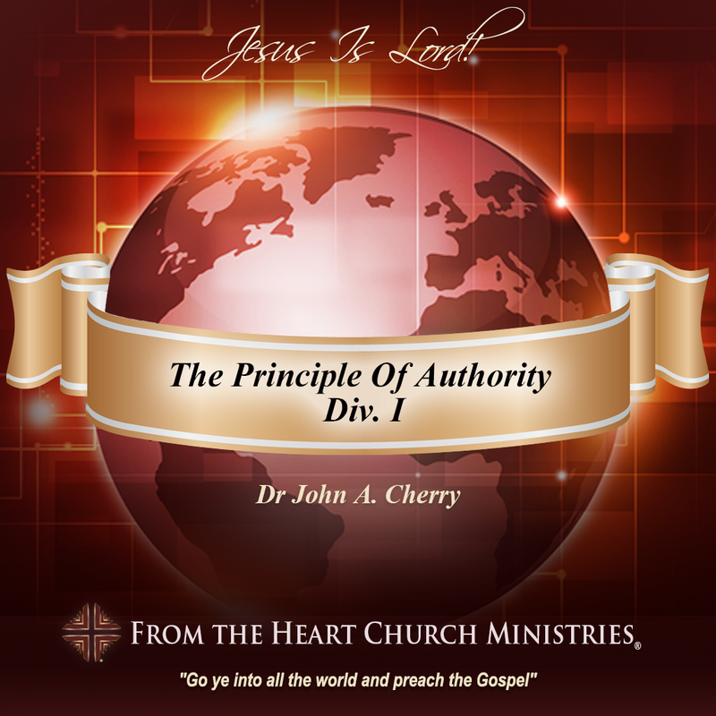 The Principle Of Authority Div. I