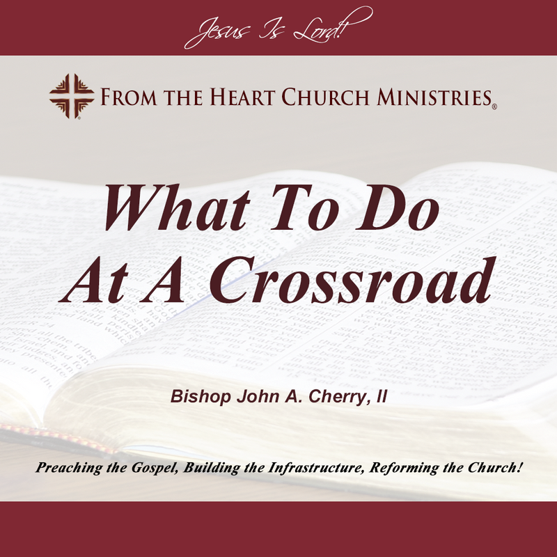What To Do At A Crossroad