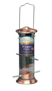 Harrisons Cast Copper Plated Nyger Feeder(FREE DELIVERY)