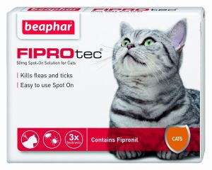 Beaphar Fiprotec Spot On Cat(FREE DELIVERY ON 3 & 6 PACKS )