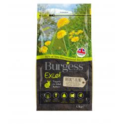 Burgess Excel Rabbit Nuggets Nature's Blend 1.5kg
