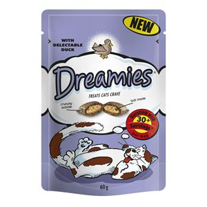 Dreamies Cat Treats with Duck