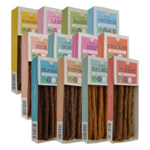 Pure Meat Sticks 100% Natural Dog Treats & Chews