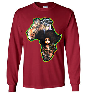 Afro Natural Hair African Pride