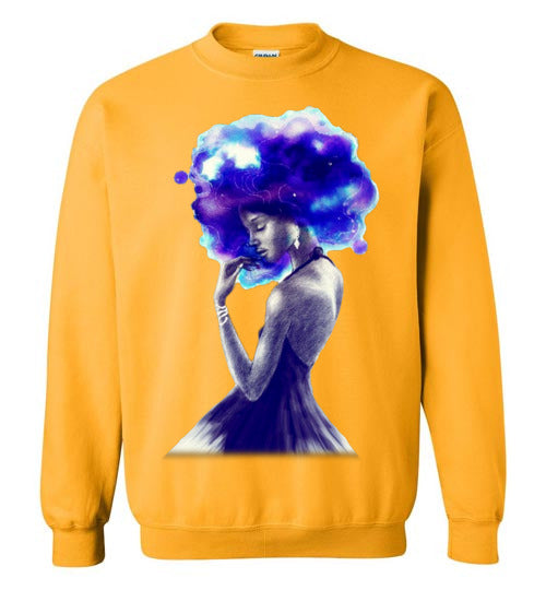 Afro Girl Are Beautiful And Magic