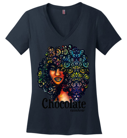 Afro Natural Hair Chocolate