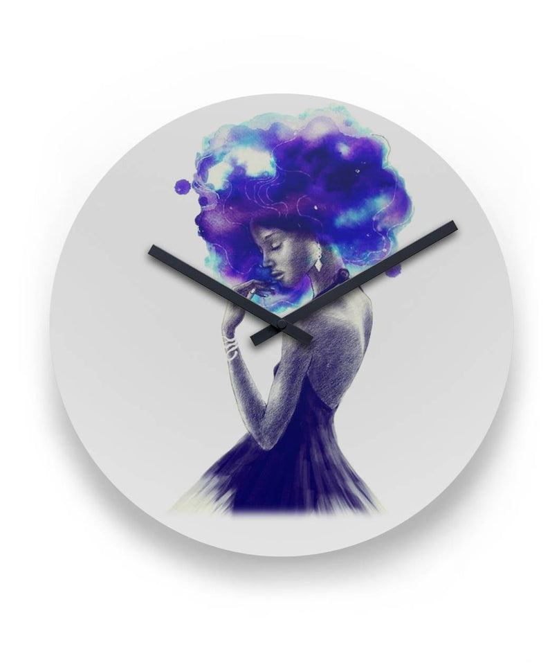 Girl Are Beautiful And Magic Wall Clock