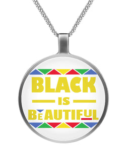 Afro natural hair beautiful Necklaces
