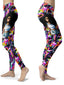 Afro Natural Hair-curly Girl Leggings