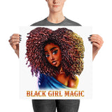 Black Girl Magic Poster