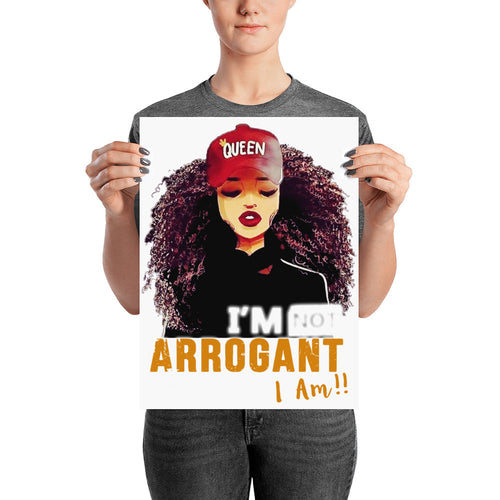 I'm Not Arrogant Poster