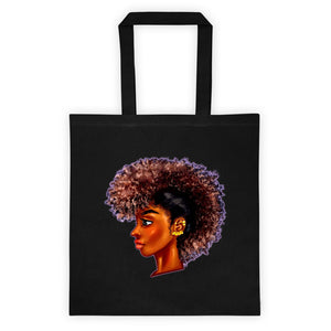 Afro Dreadlock Tote bag