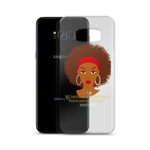 Afro Natural Hair-Phenomenally Samsung Case