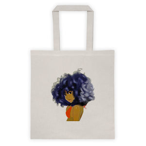 Curly Lady Tote bag