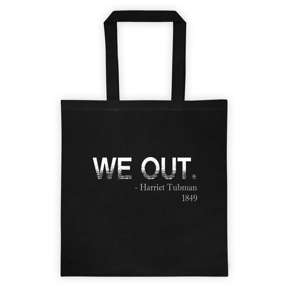 Black Month History WE OUT Tote bag